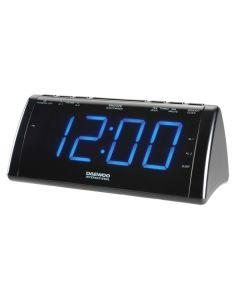 Radio Despertador con Proyector LCD Daewoo 222932 USB 0