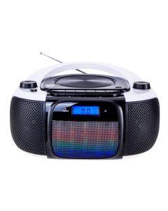 Radio CD Bluetooth MP3 Daewoo DBU-61 KARAOKE FM SD 220 V Gris Negro 0