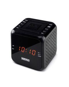 Radio Despertador Daewoo DCR-450 Negro
