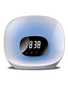 Radio Despertador Daewoo DCR-470 LED Blanco 0
