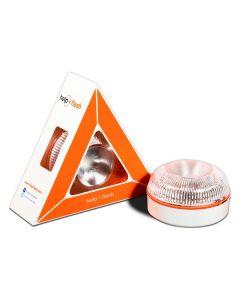 Dispositivo de Señalización de Emergencia Help-Flash LED IP54 Blanco