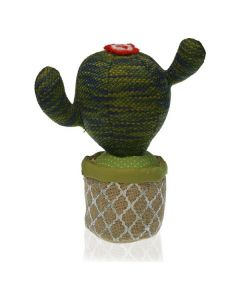 Sujetador de puerta Textil (12 x 29 x 28 cm) Cactus 0