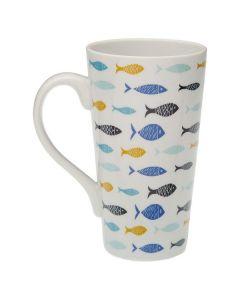 Taza Mug Blue Bay Porcelana 0