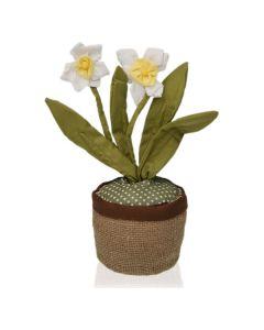 Sujetador de puerta Textil (13 x 37 x 13 cm) Narciso 0