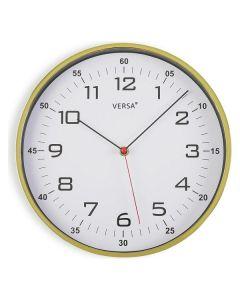 Reloj de Pared Plástico (4,5 x 30,5 x 30,5 cm) 0
