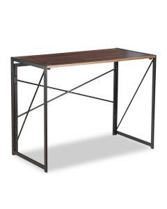 Mesa de Escritorio Plegable Madera Metal (45 x 74 x 90 cm) 0