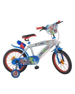 """Bicicleta infantil The Avengers 16"""" Gris 0"""