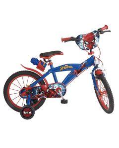 "Bicicleta infantil Spiderman 16"" Azul 0"