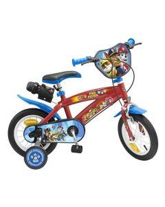"Bicicleta infantil The Paw Patrol 12"" Rojo 0"