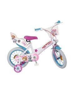 "Bicicleta Infantil  Paw Patrol Toimsa (14"") 0"