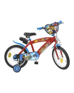 Bicicleta Infantil Toimsa Paw Patrol 16'' Rojo Azul 0