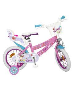 "Bicicleta infantil Toimsa Fantasy Walk 12"" Rosa Blanco 0"
