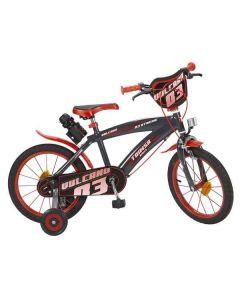 "Bicicleta Vulcano 16"" Negro Rojo 0"