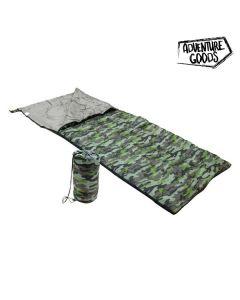 Saco de Dormir Adventure Goods 36088 (190 x 75 cm) Verde 0