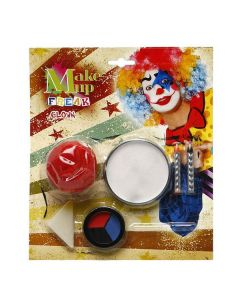 Pintura de Cara Clown 0