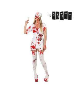 Disfraz para Adultos Enfermera sangrienta (3 Pcs) 0