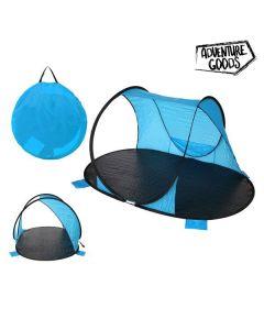 Paravientos Adventure Goods 25373 (220 x 145 x 110 cm) Azul Negro