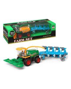 Tractor con Pala y Remolque 111003 0