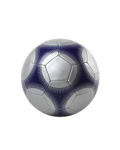 Balón de Fútbol 113054 Plateado Azul 0