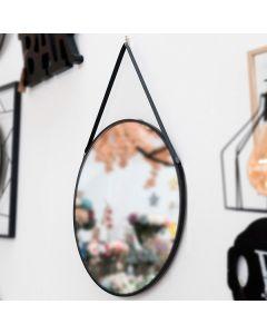 Espejo Colgante Negro 111836 0