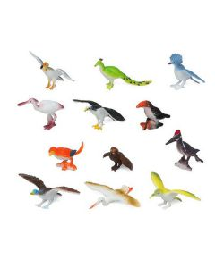 Set de Animales Salvajes 110180 Pájaro (12 Pcs) 0