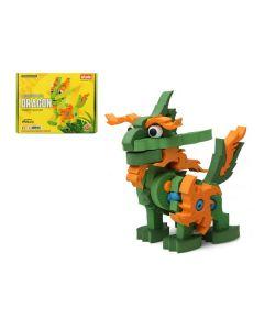 Puzzle 3D Legendary Dragon Verde 111408 0