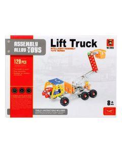 Juego de Construcción Camión con grúa 117622 (120 Pcs) 0