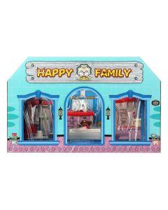Casa de Muñecas Happy Family Bathroom 0