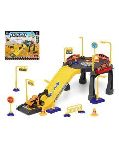 Garaje Parking con Vehículos Build Construction 111346 (37 pcs) 0