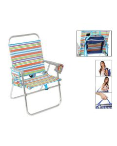 Silla Plegable 118123 Multicolor 0