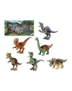 Set 6 Dinosaurios Era of Dinosaurs Plástico (42 x 22 cm) 0