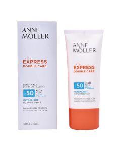 Protector Solar Fluido Express Double Care Anne Möller Spf 50 (50 ml)