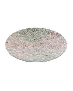 Centro de Mesa Dekodonia Mosaico Nácar Fibra (46 x 46 x 6 cm) 0