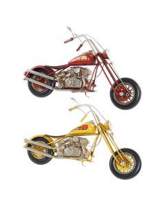 Vehículo Dekodonia Decoración Vintage Moto (2 pcs) (29 x 9 x 17 cm) 0