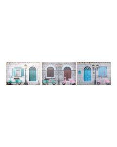 Cuadro DKD Home Decor (3 pcs) (60 x 2.5 x 40 cm) 0