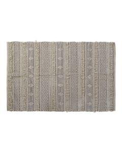 Alfombra DKD Home Decor Con flecos Algodón Boho (120 x 180 x 1 cm) 0