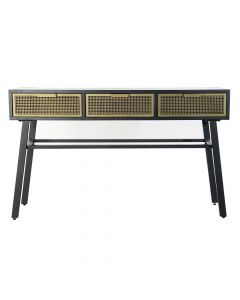 Consola DKD Home Decor Metal (130 x 42 x 78 cm) 0