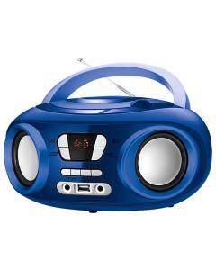 """Radio CD Bluetooth MP3 9"""" BRIGMTON W-501 USB Azul 0"""