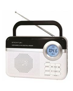 Radio Portátil BRIGMTON BT 251 B Blanca 0