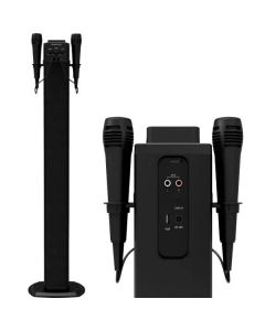 Torre de Sonido Bluetooth BRIGMTON BTW-40K 40W USB Negro