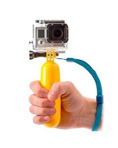 Palo Selfie Flotante para Cámara Deportiva KSIX Amarillo 0