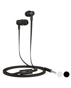 Auriculares con Micrófono KSIX Go & Play Small 3 3.5 mm 0