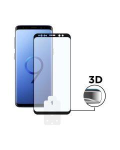 Protector de Pantalla Cristal Templado para Móvil Galaxy S9 Plus KSIX 3D Negro 0