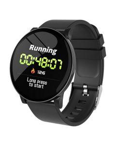 "Smartwatch KSIX Round HR 1,3"" OLED 170 mAh Bluetooth 4.0 Negro 0"