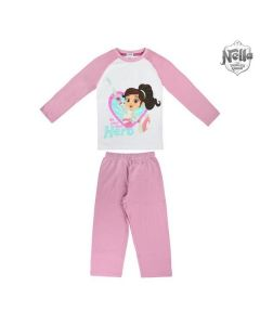 Pijama Infantil Nella 73036 Lila 0