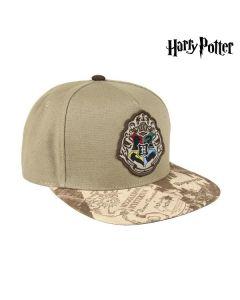 Gorra con Visera Plana Harry Potter 73600 Marrón claro (59 Cm) 0