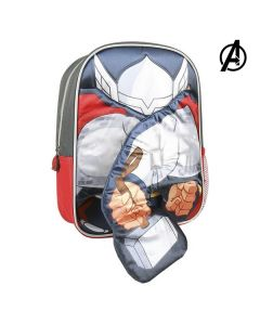 Mochila Infantil 3D Thor The Avengers 78452
