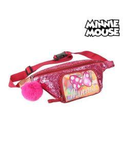 Riñonera Minnie Mouse Rosa