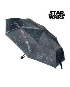 Paraguas Plegable Star Wars (ø 97 cm) Negro 0