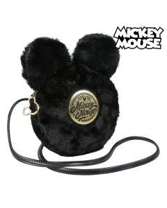 Bolso Bandolera Mickey Mouse Negro 0
